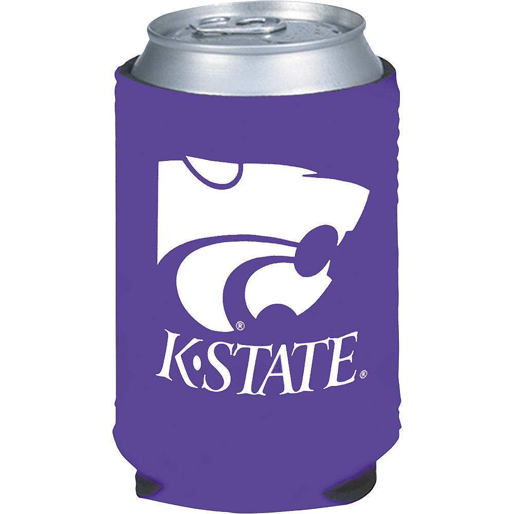 Kansas State Wildcats Can Coozie Image #1