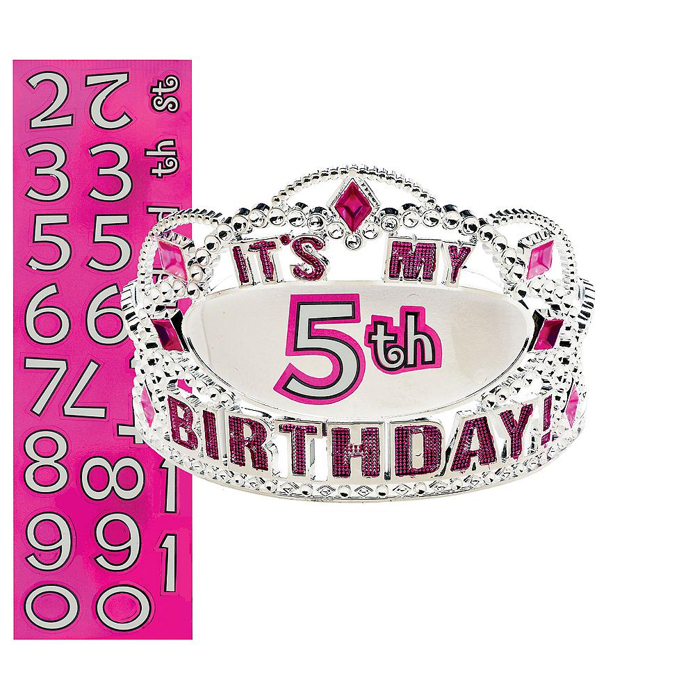 Child Personalized Happy Birthday Tiara Kit Image #1