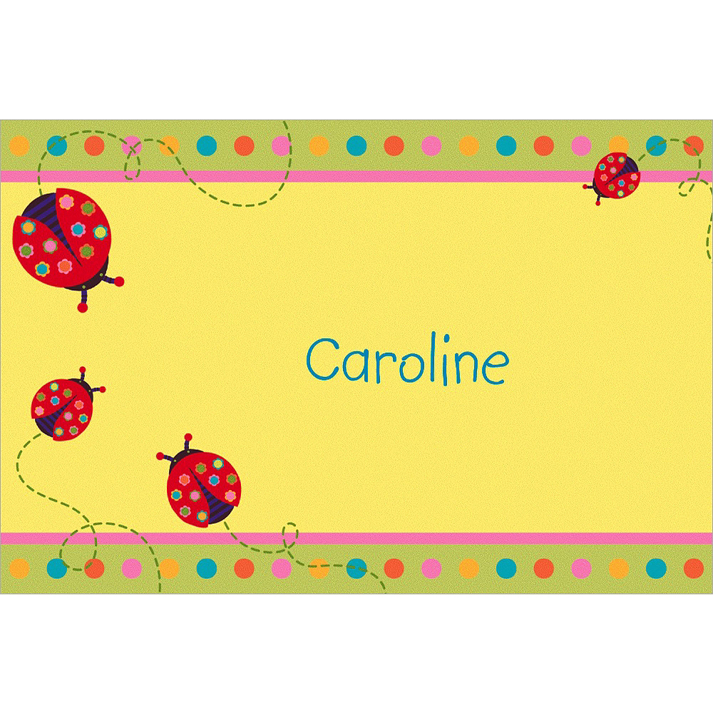 Nav Item for Custom Lady Bug Thank You Notes Image #1