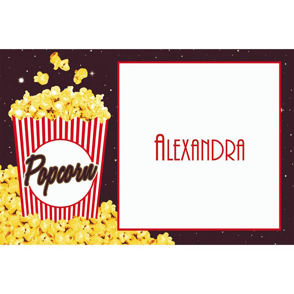Custom Movie Night Popcorn Thank You Notes Image #1