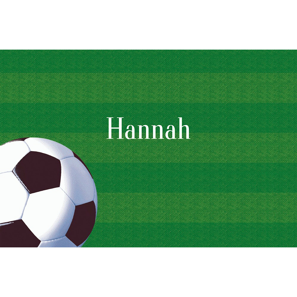 Custom Soccer Fan Thank You Notes  Image #1