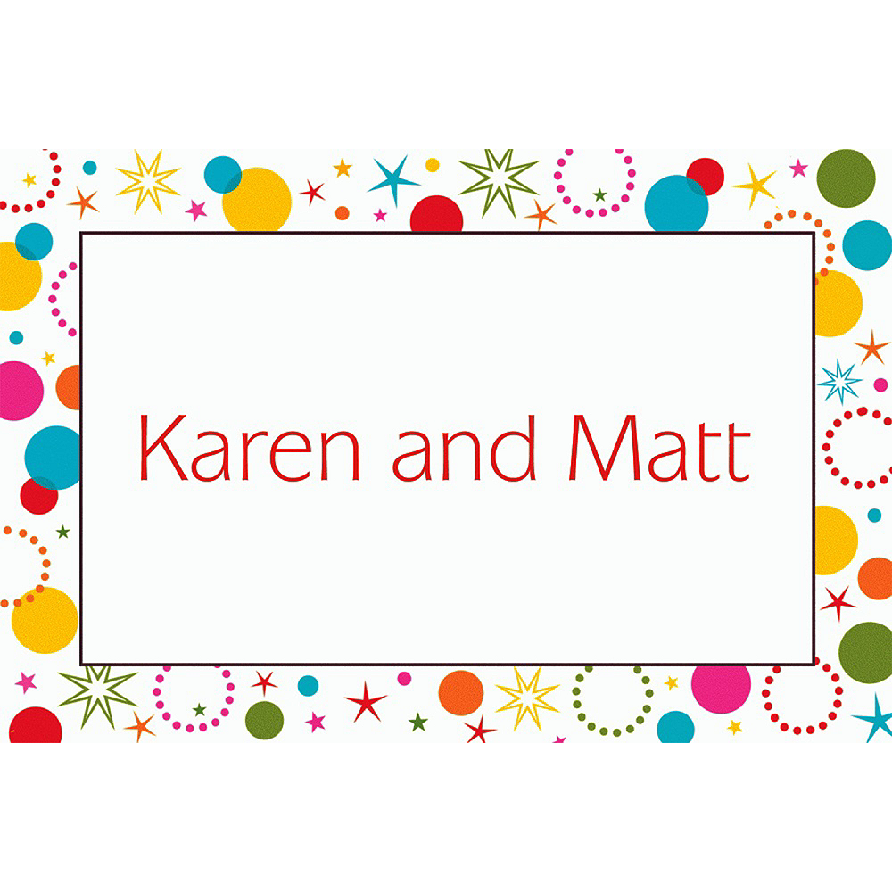 Custom Party Time Thank You Notes Image #1