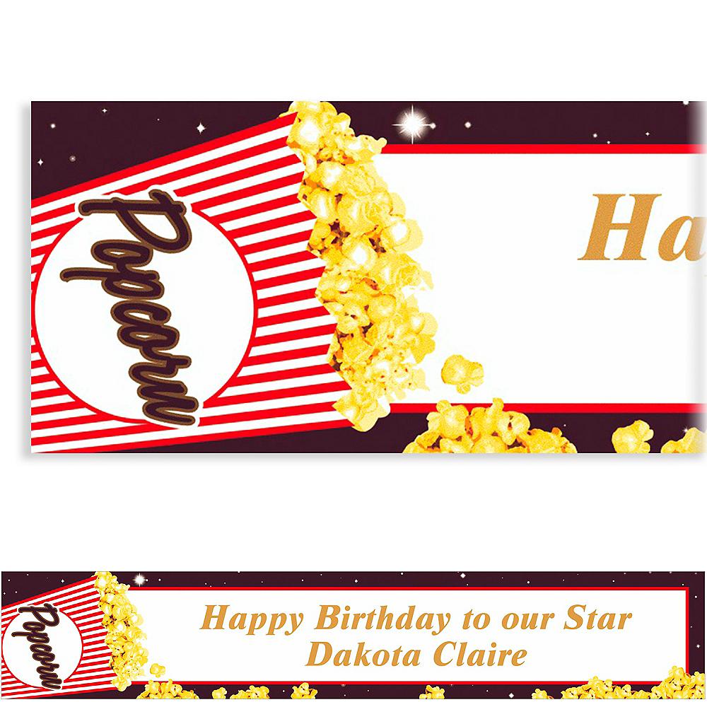 Custom Movie Night Banner 6ft Image #1