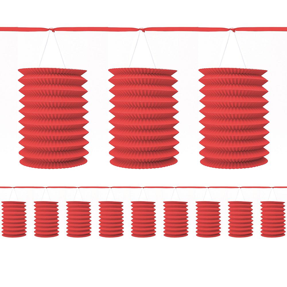 Red Lantern Garland Image #1