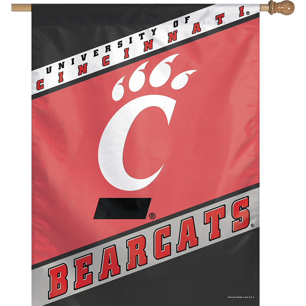 Nav Item for Cincinnati Bearcats Banner Flag Image #1
