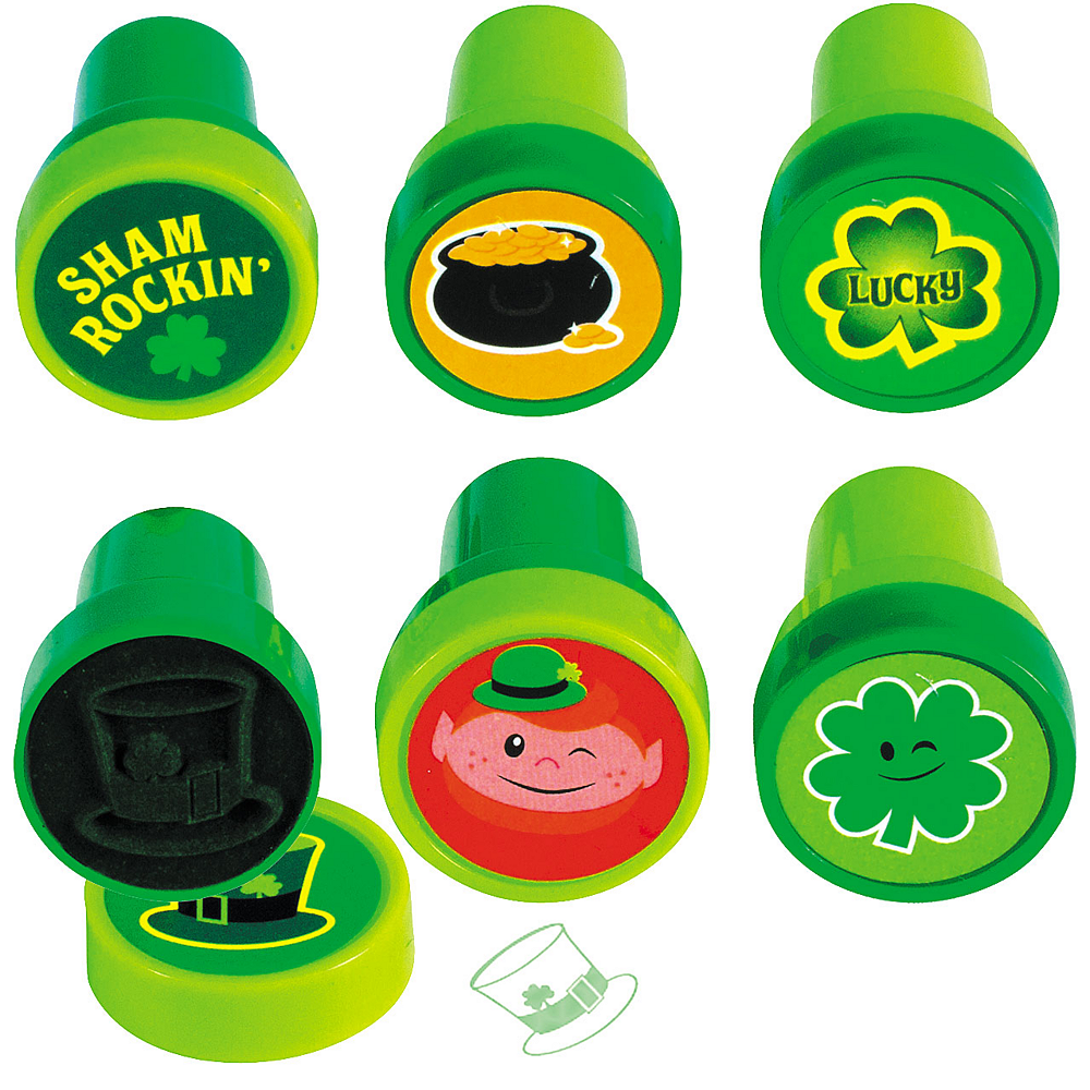 St. Patrick's Day Stampers 6ct Image #1