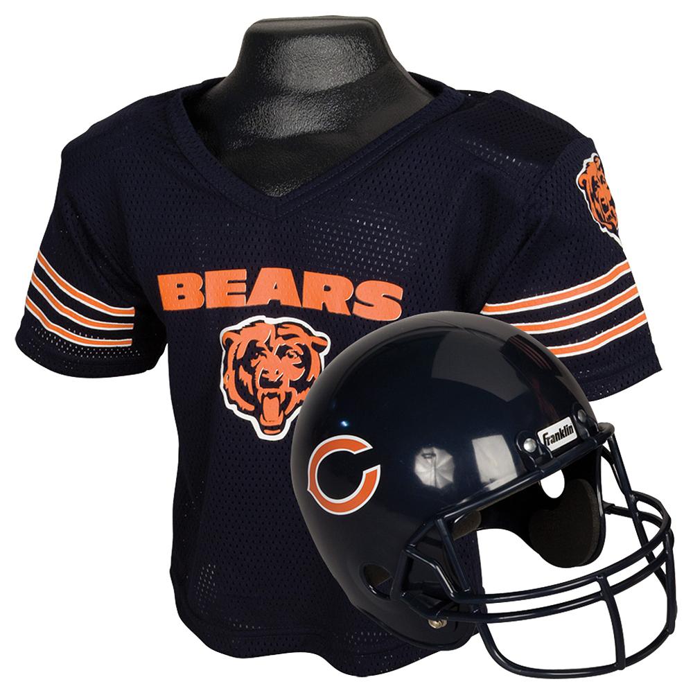 Child Chicago Bears Helmet & Jersey Set Image #1