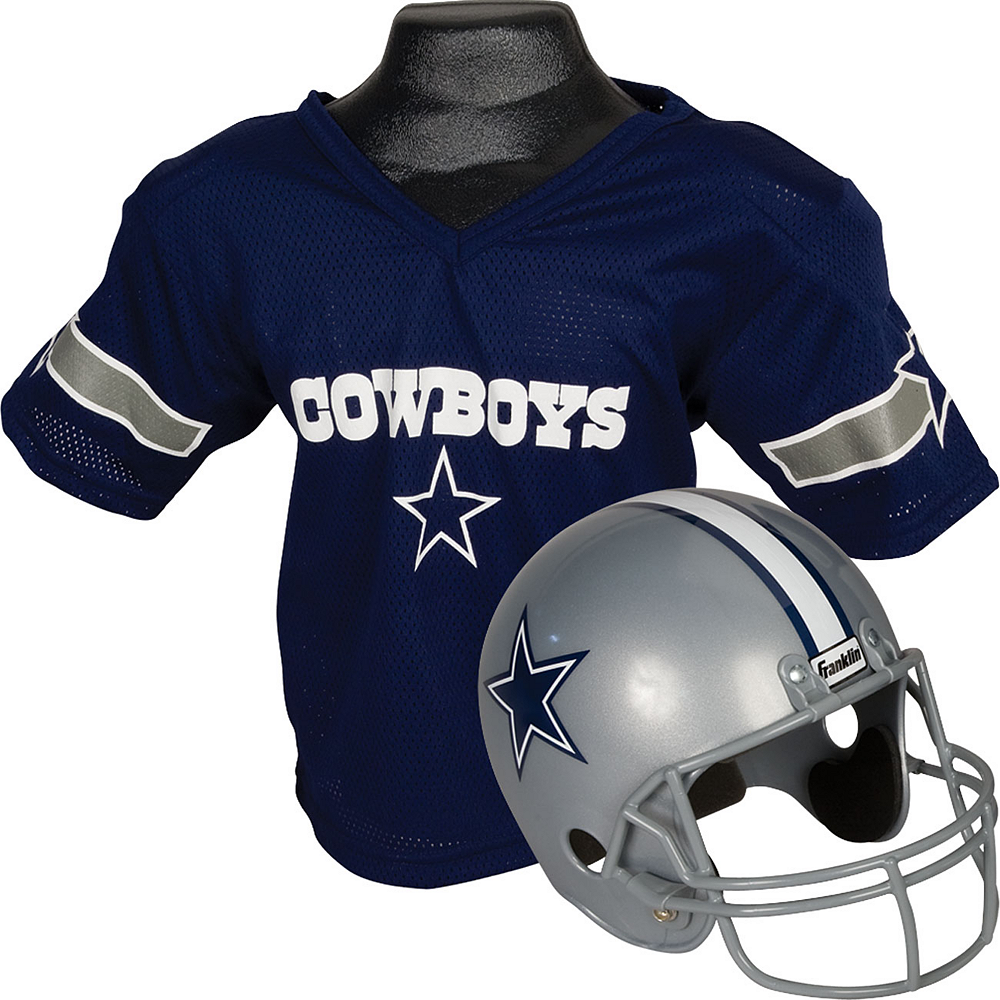 Dallas Cowboys Helmet Jersey Set Image #1