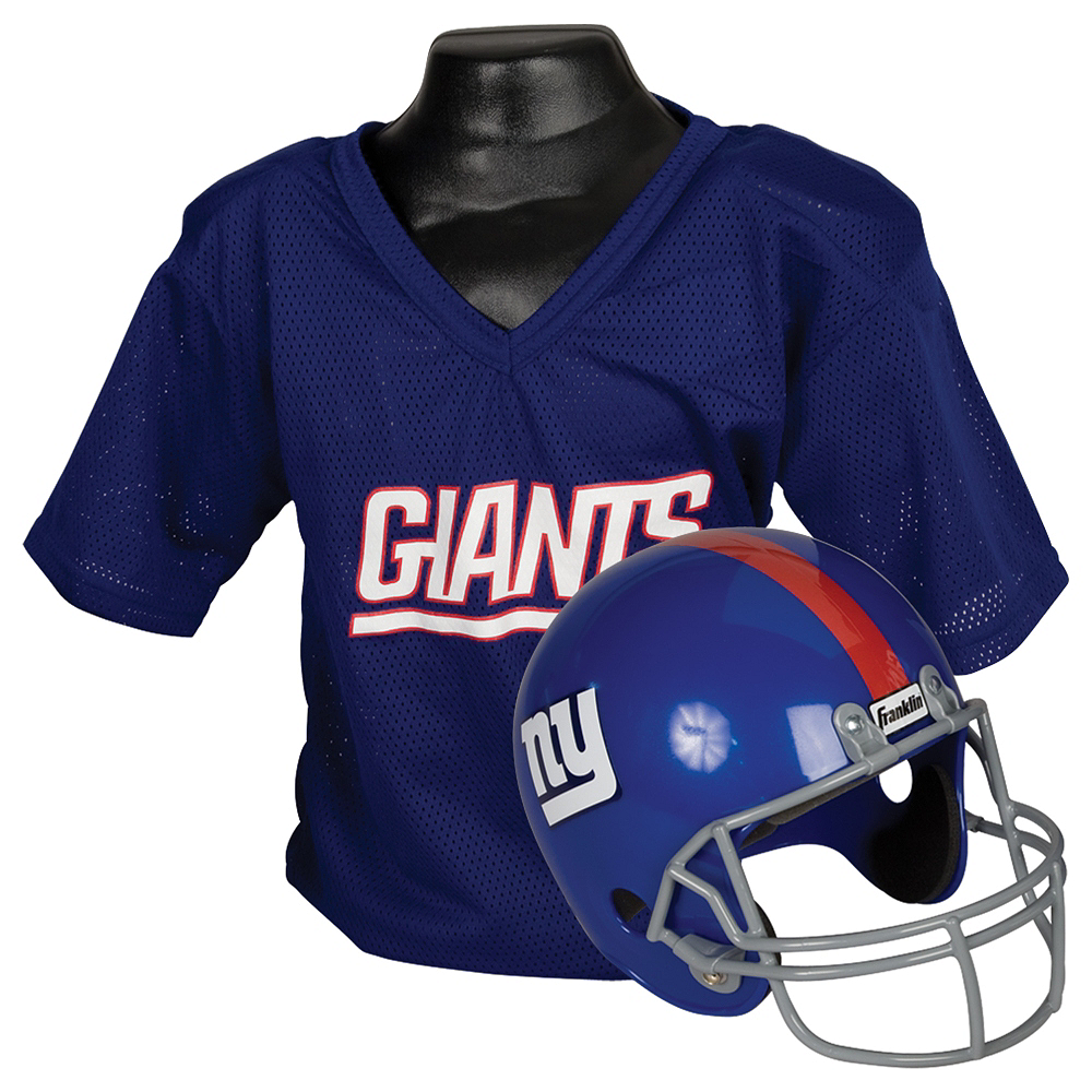Child New York Giants Helmet & Jersey Set Image #1