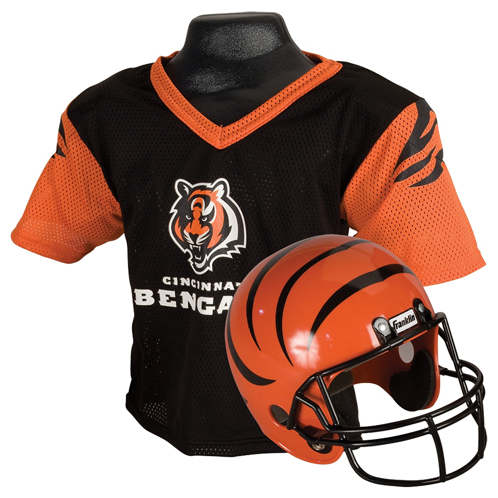 Nice Child Cincinnati Bengals Helmet & Jersey Set | Party City  free shipping