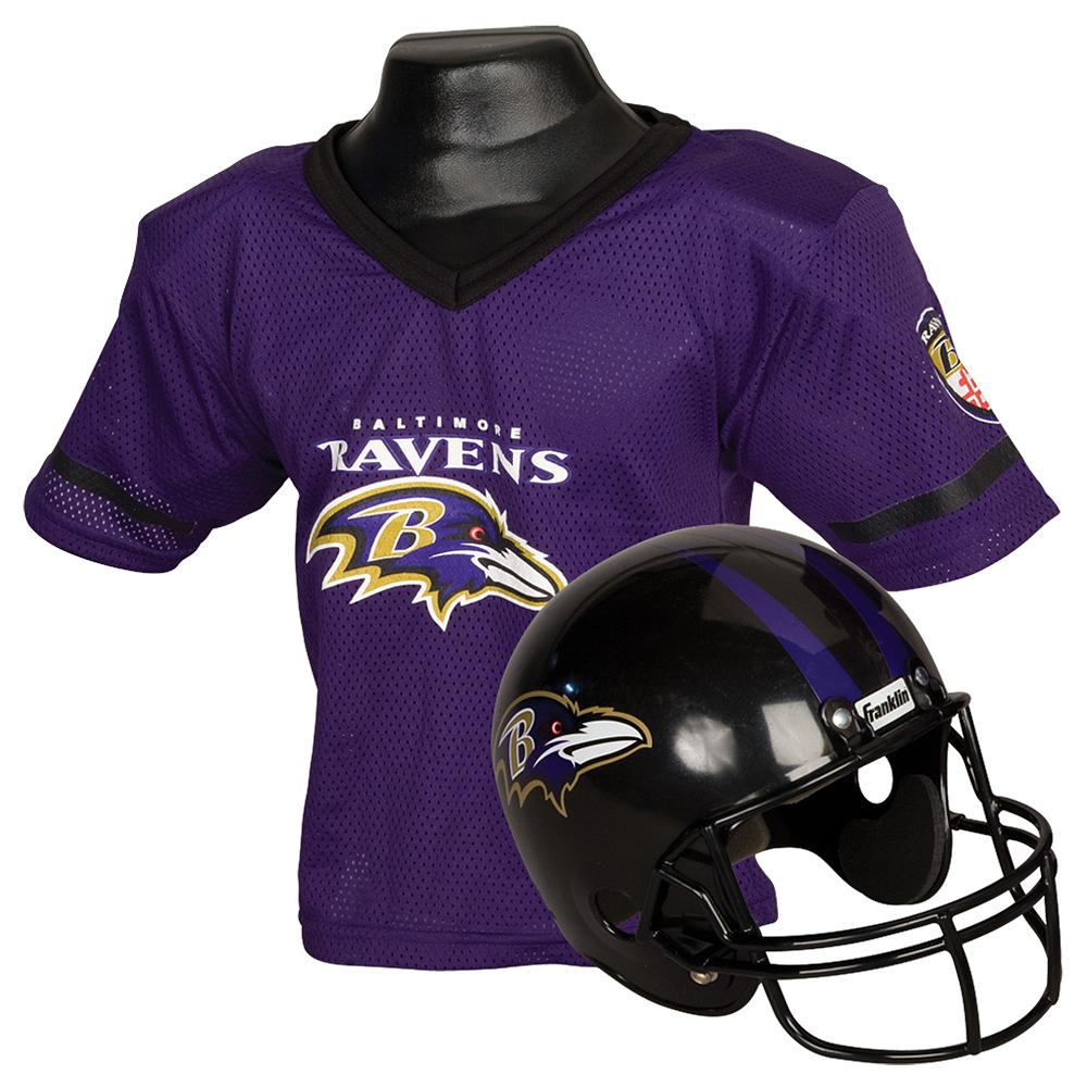 Child Baltimore Ravens Helmet & Jersey Set Image #1