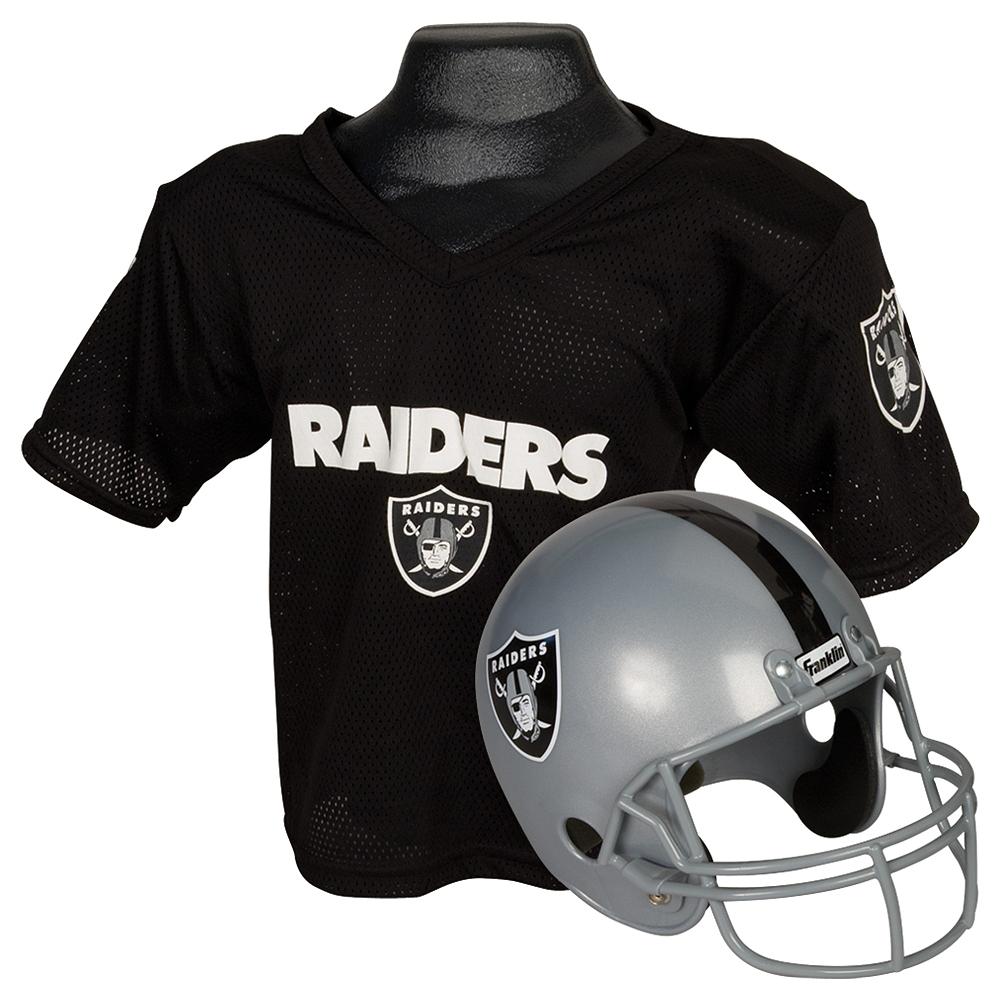 Child Las Vegas Raiders Helmet & Jersey Set Image #1