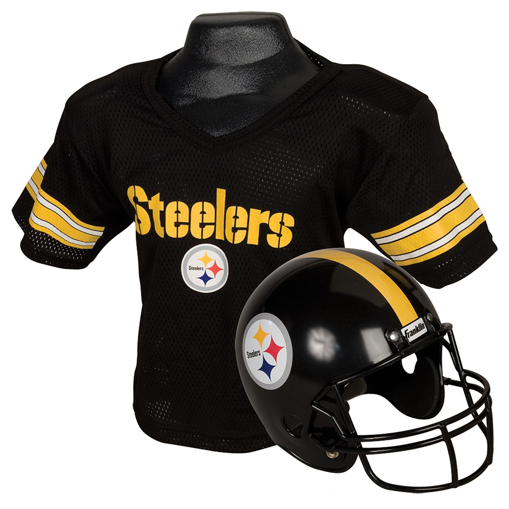 Child Pittsburgh Steelers Helmet & Jersey Set Image #1