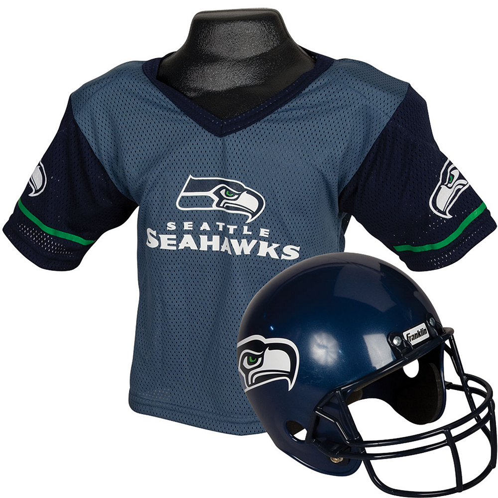 Seattle Seahawks Helmet Jersey Set Image #1