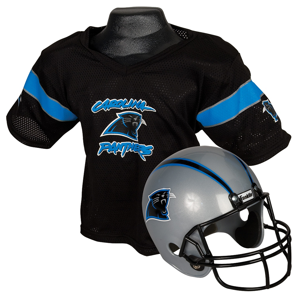Child Carolina Panthers Helmet & Jersey Set Image #1