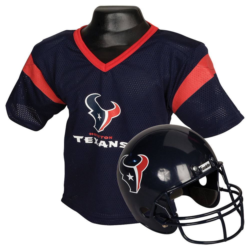 Child Houston Texans Helmet & Jersey Set Image #1