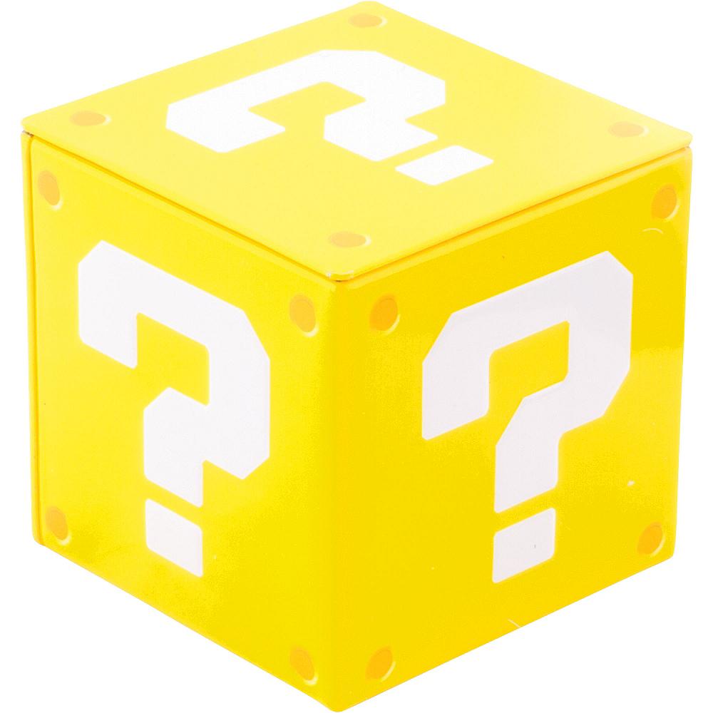 Super Mario Candy Coins Question Block Tin Image #1