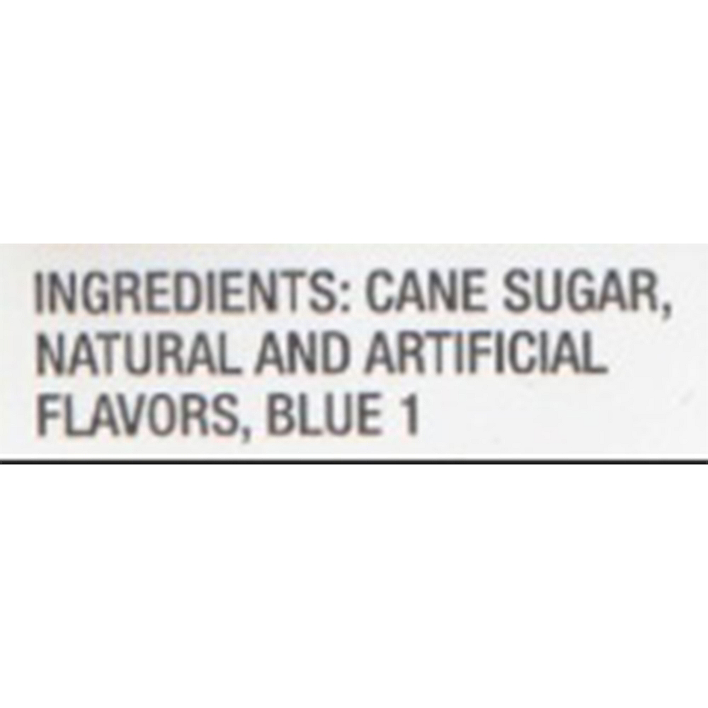 Caribbean Blue Rock Candy Sticks 8pc Image #4