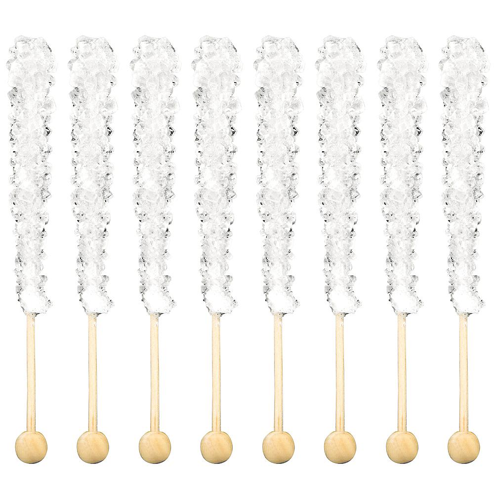 White Rock Candy Sticks 8pc Image #2