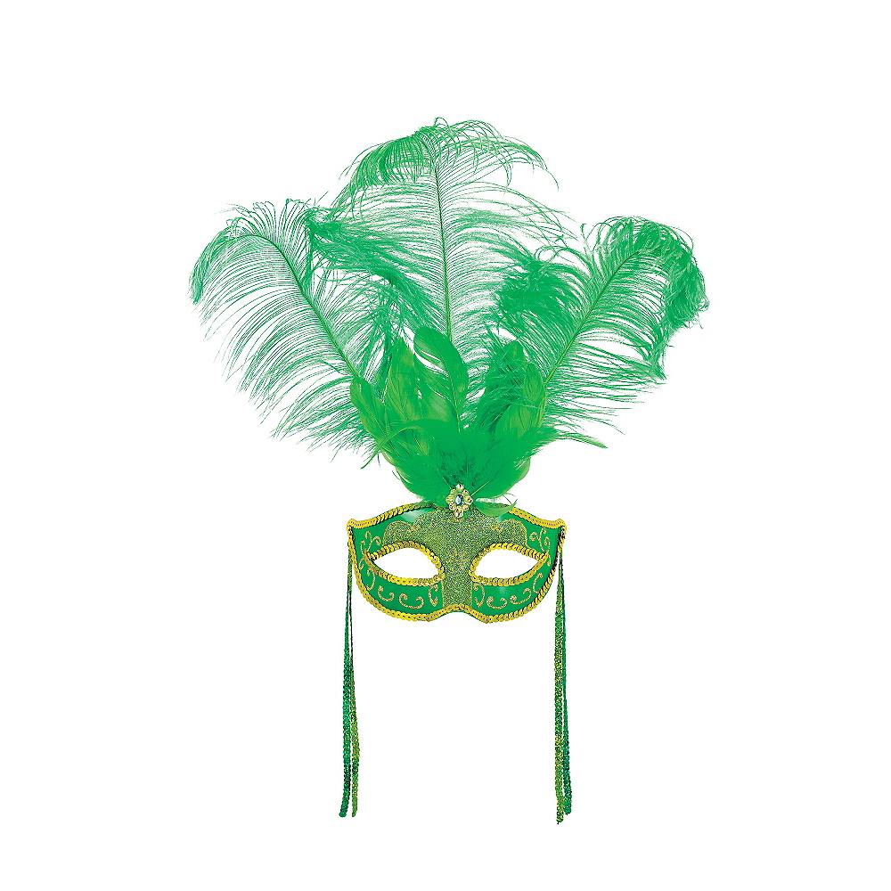 St. Patrick's Day Masquerade Mask Image #1