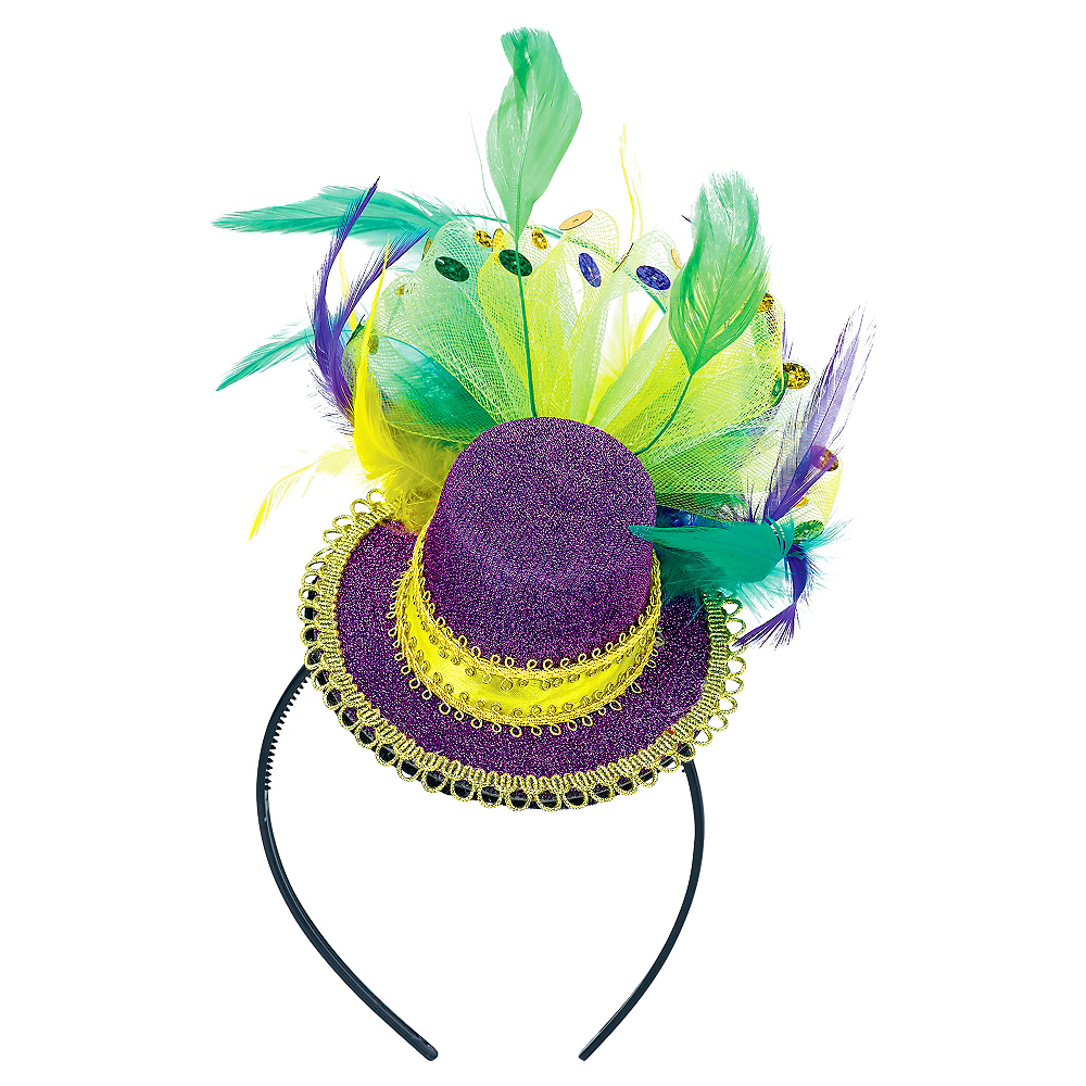 Fashion Mardi Gras Headband Image #1