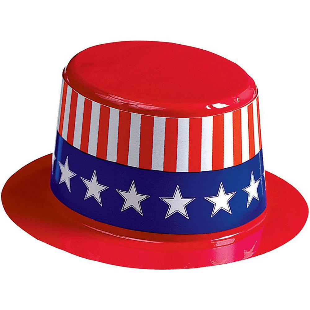Mini Uncle Sam Hats 24ct Image #2