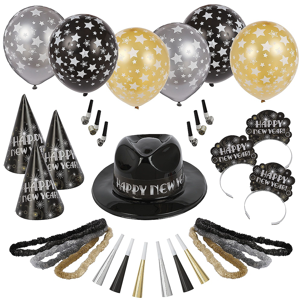 Kit For 50 - Ballroom Bash New Year's Party Kit Image #1