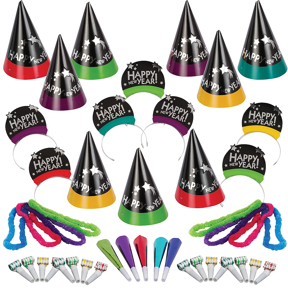 Kit For 50 - Simply Stated New Year's Party Kit Image #1