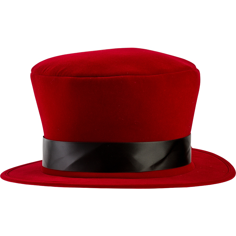 Red Velvet Top Hat Image #1