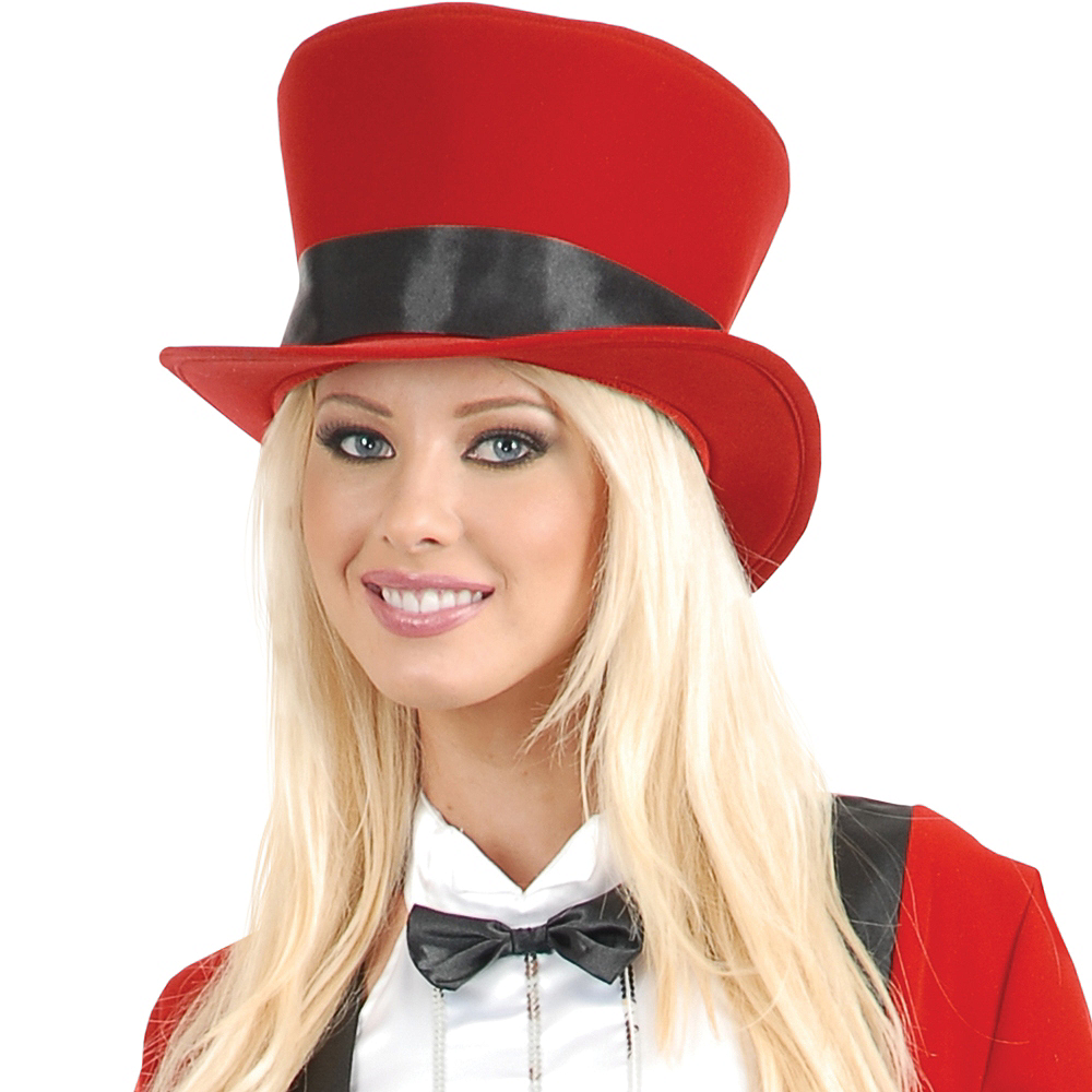 Red Velvet Top Hat Image #2