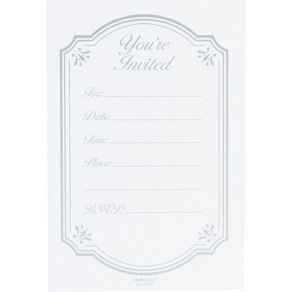 Girl's Communion Blessings Postcard Invitations 20ct Image #2