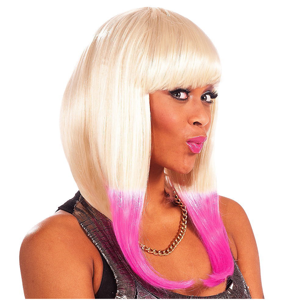 Nav Item for Nikki Rap Star Wig Image #1