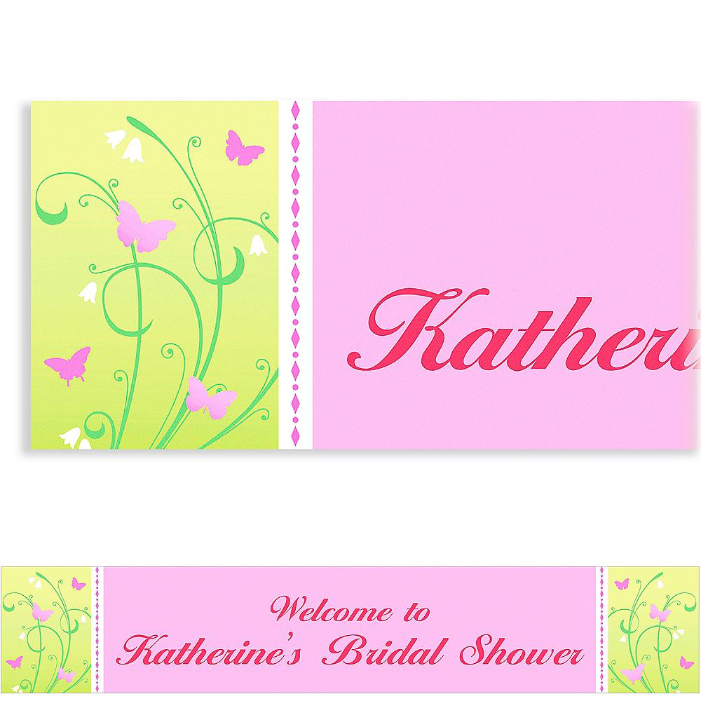 Custom Love is Patient Wedding Banner 6ft Image #1