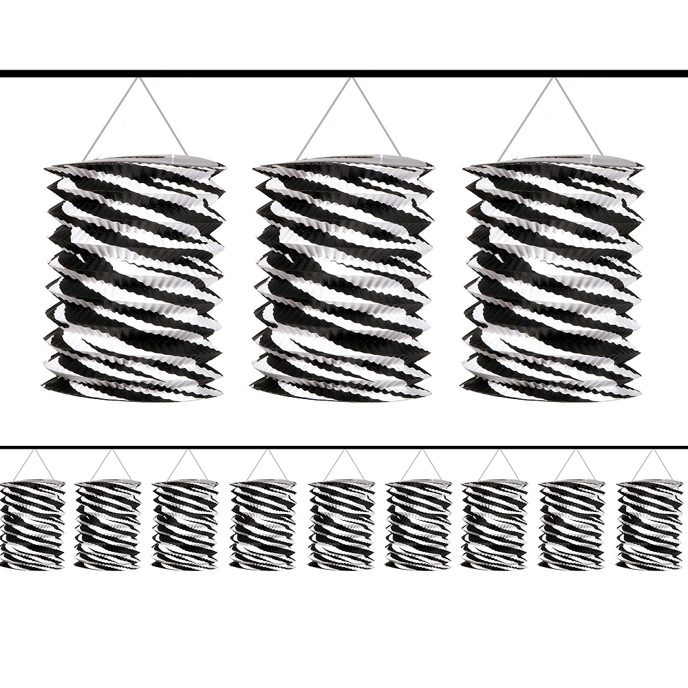 Nav Item for Zebra Lantern Garland Image #1