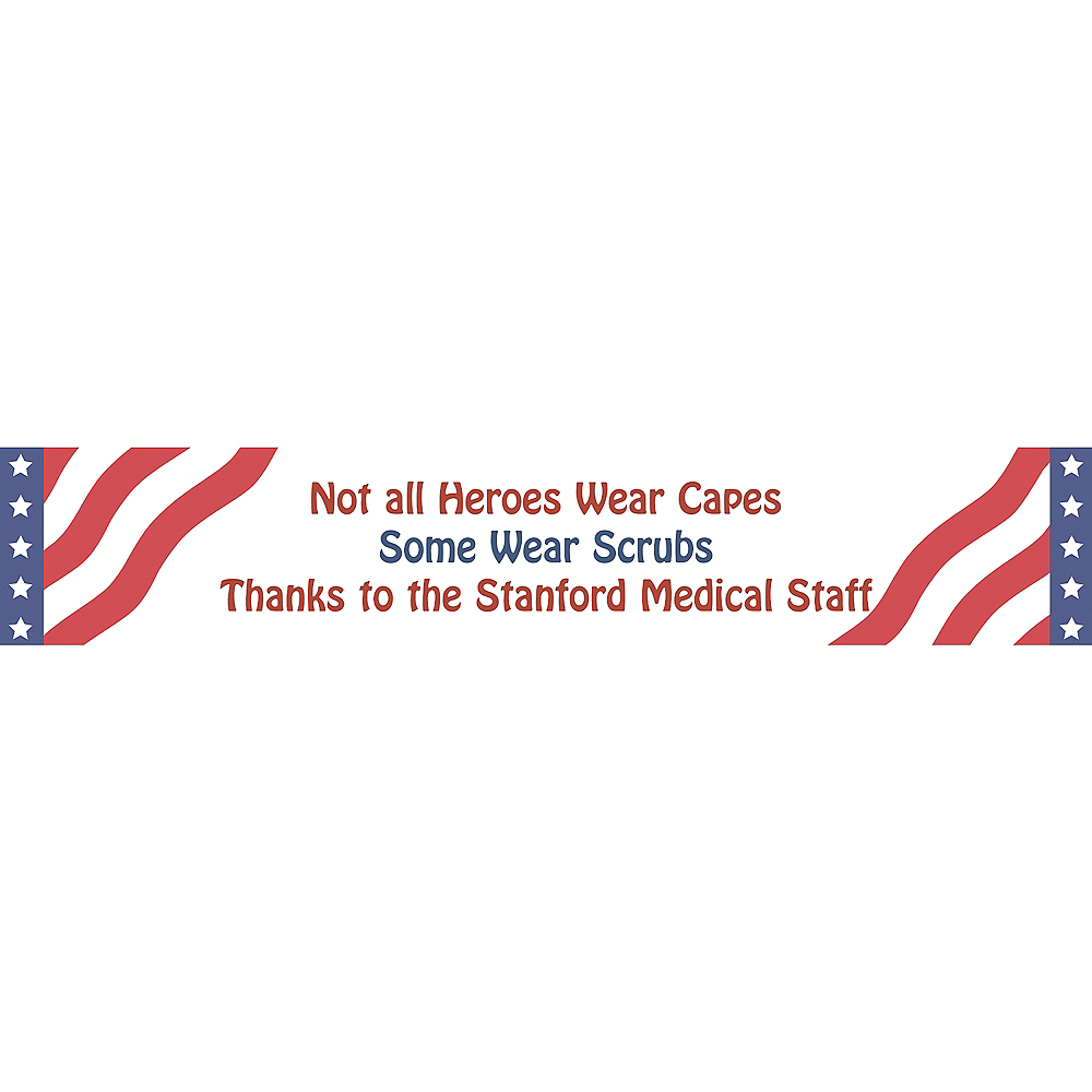 Custom All American Welcome Home Banner 6ft | Party City