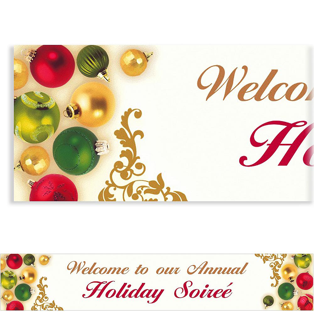 Custom Merry Moments Christmas Banner 6ft Image #1