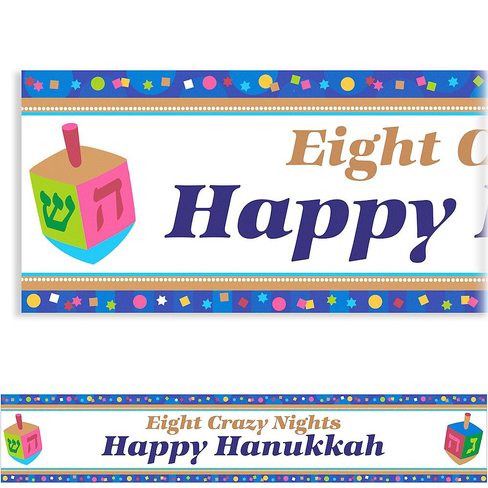 Custom Hanukkah Celebrations Banner 6ft Image #1