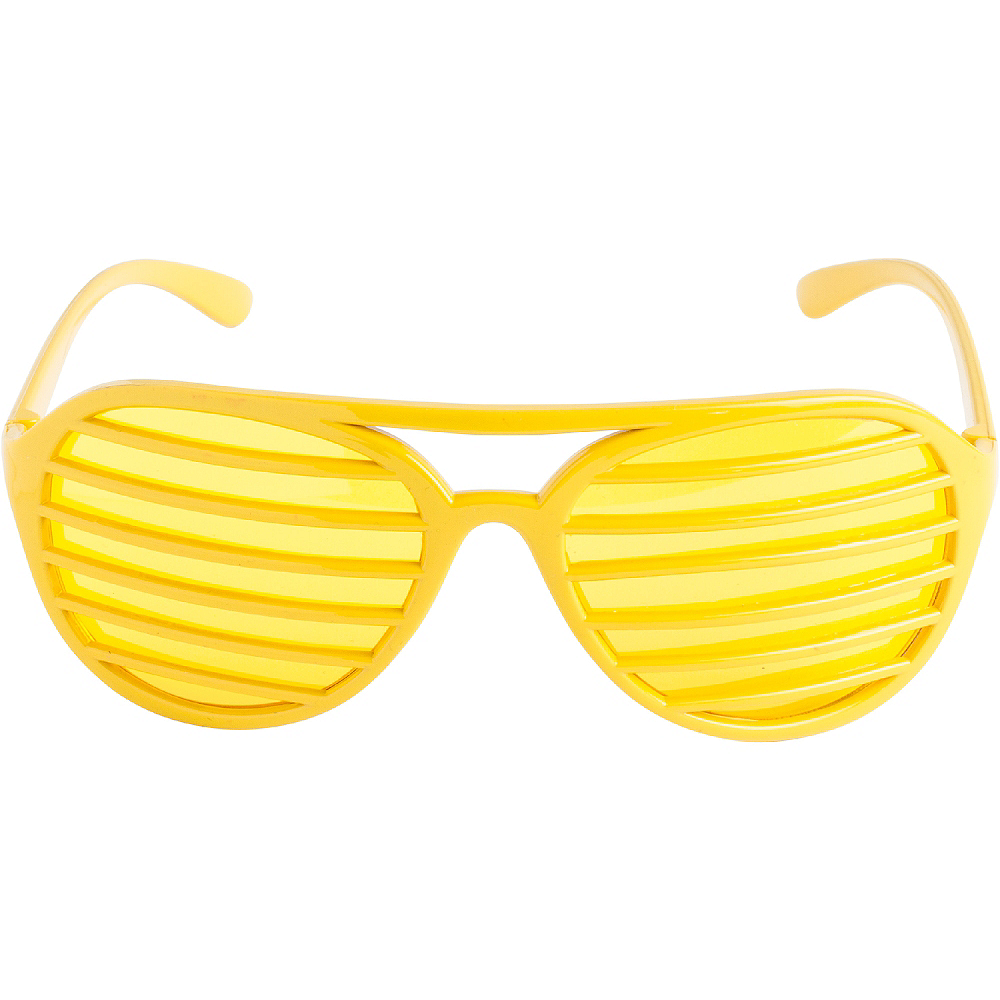 Yellow Shutter Glasses Image #1