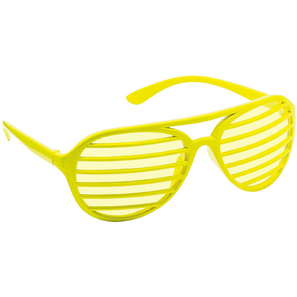 Yellow Shutter Glasses Image #2
