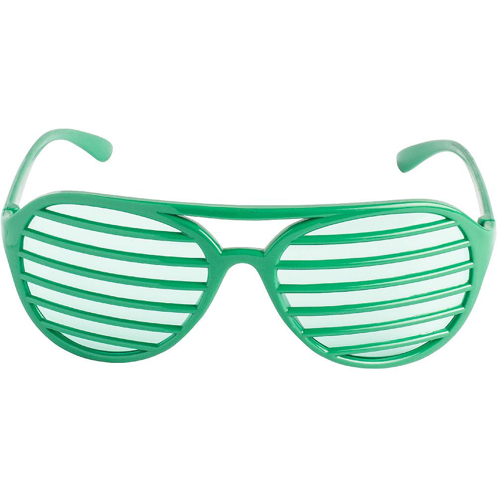 Green Shutter Glasses Image #1