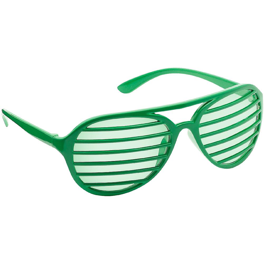 Green Shutter Glasses Image #2