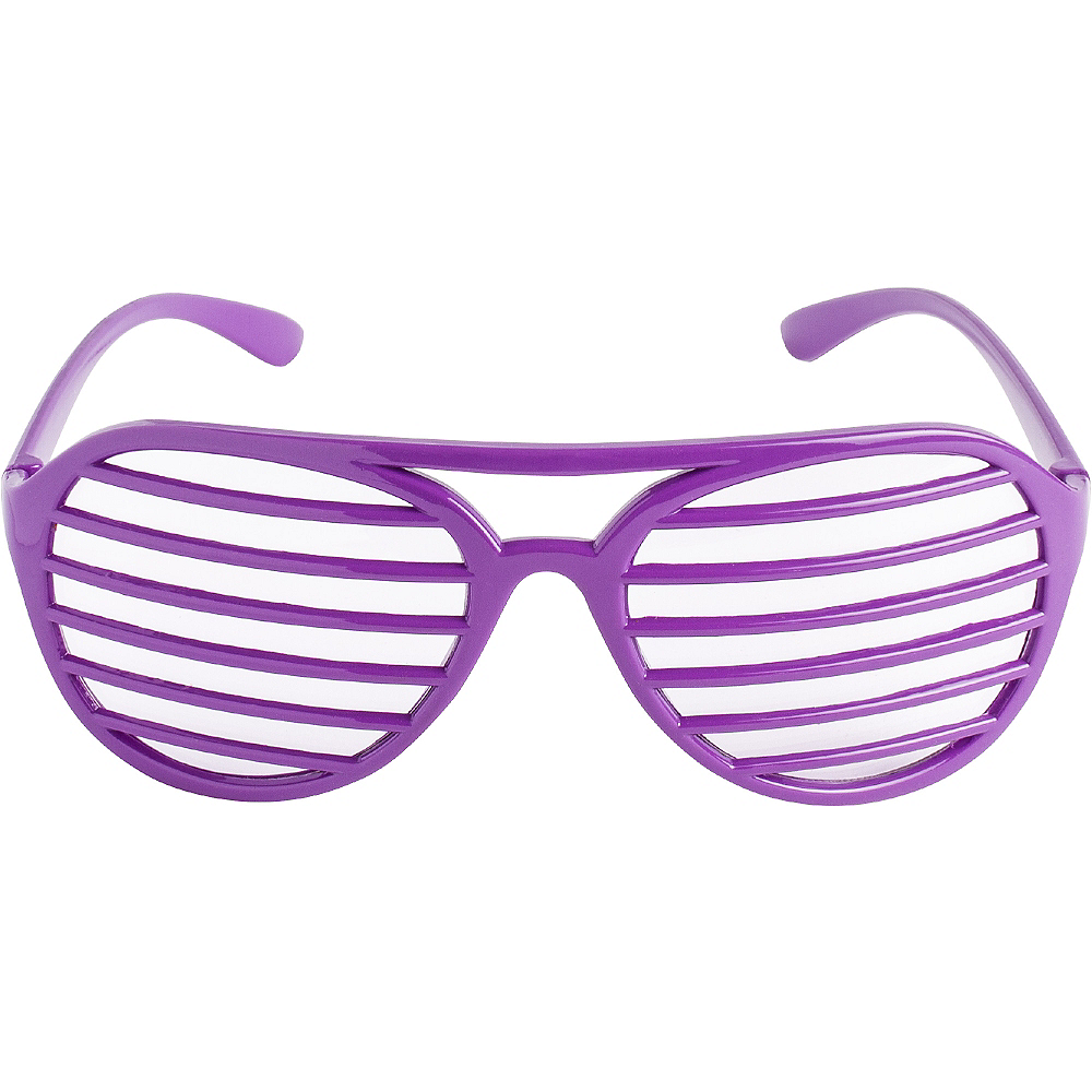 Purple Shutter Glasses Image #1