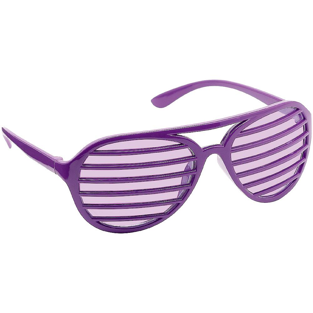 Purple Shutter Glasses Image #2