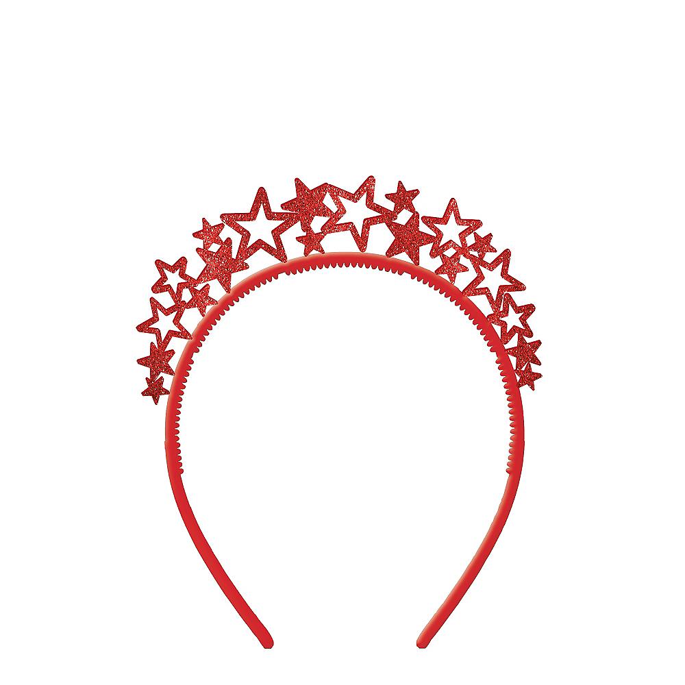 Glitter Patriotic Starburst Headband Image #1