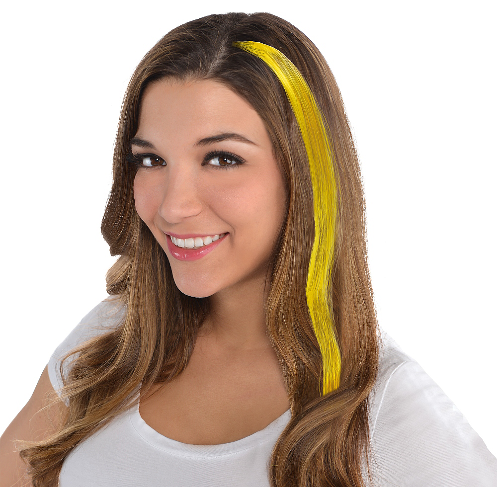 Yellow Hair Extension Image #1