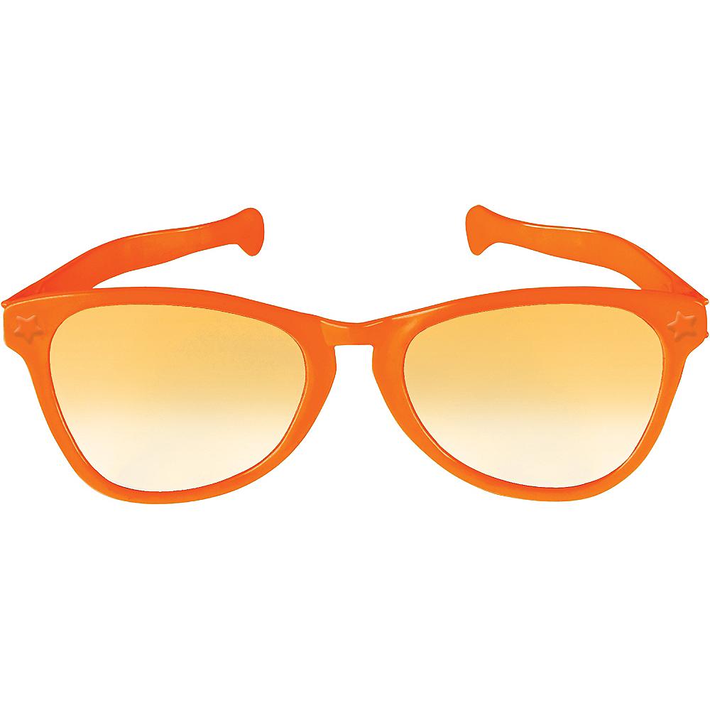 Orange Giant Fun Glasses Image #1