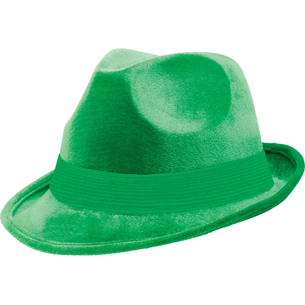 Nav Item for Green Suede Fedora Image #1