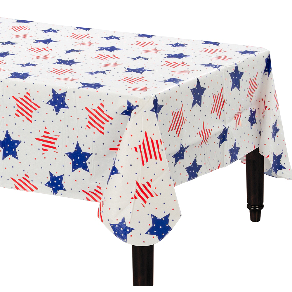 American Classic Flannel-Backed Vinyl Tablecloth Image #1