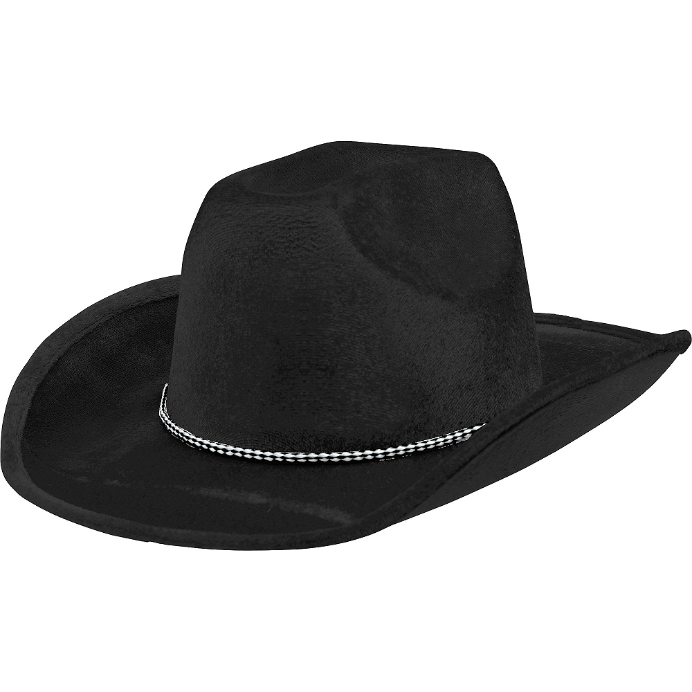 Nav Item for Black Suede Cowboy Hat Image #1