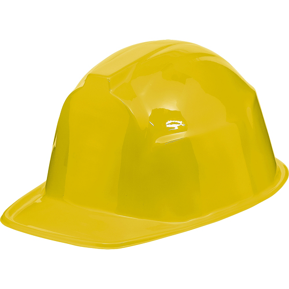 Yellow Construction Hat Image #1